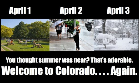 Colorado Weather in April