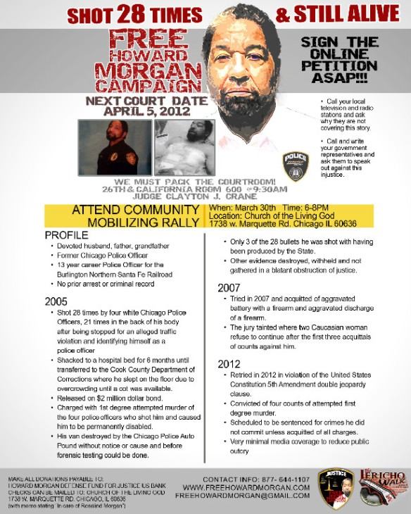 Free Howard Morgan Flyer