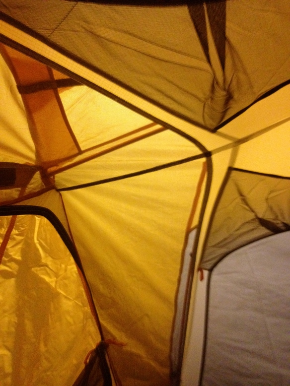 Mike's tent