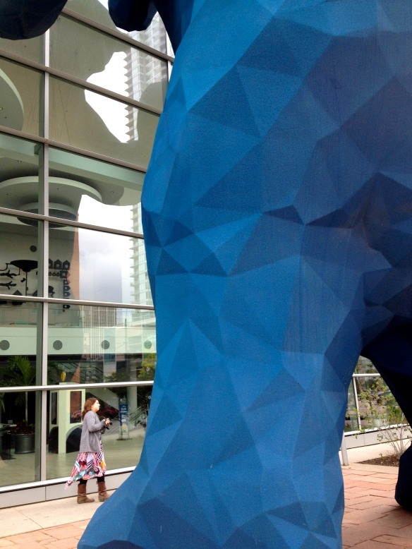 Big Blue Bear in Denver