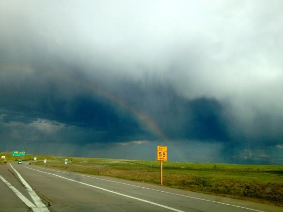 Rainbow over Colorado