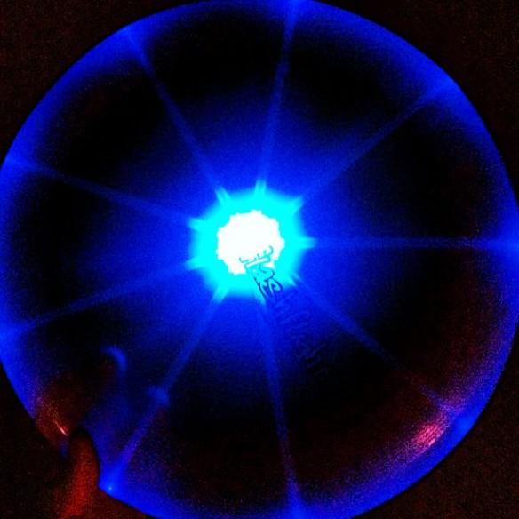 Night fisbee