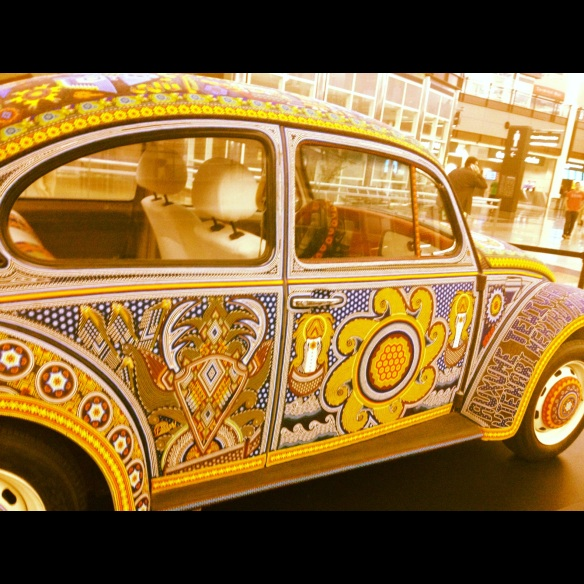 Beetle at the airport, DIA