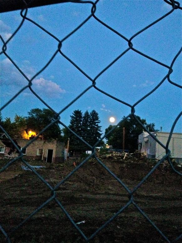 Construction near colfax